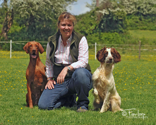 Pia Birnie with Gamesika Gundogs